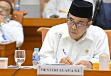 Menteri Agama Fachrul Razi /ist