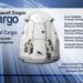 Foto yang diunggah oleh NASA ini menunjukkan pesawat kargo luar angkasa Dragon SpaceX yang mengangkut sekitar 3.311 kilogram persediaan awak dan peralatan untuk Stasiun Luar Angkasa Internasional. (Xinhua/NASA)