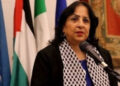 Menteri Kesehatan Palestina Mai al-Kaila. /ist