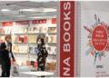 Seorang pria mengunjungi stan gabungan penerbit asal China dalam ajang Pameran Buku Frankfurt (Frankfurt Book Fair) di Frankfurt, Jerman, pada 21 Oktober 2021. Puluhan penerbit asal China menempatkan lebih dari 1.000 macam buku di rak-rak bersama mereka di Frankfurt dalam ajang Frankfurt Book Fair yang dibuka untuk pengunjung pada Rabu (20/10). (Xinhua/Lu Yang)