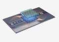 """Foto yang disediakan oleh tim peneliti yang dipimpin oleh Pan Jianwei pada 26 Oktober 2021 ini menunjukkan prosesor kuantum """"Zuchongzhi 2.1"""". (Xinhua/Tim peneliti yang dipimpin oleh Pan Jianwei)"""