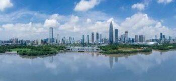 Foto panorama dari udara yang diabadikan pada 12 September 2020 ini menunjukkan daerah Houhai di Distrik Nanshan yang berada di Shenzhen, Provinsi Guangdong, China selatan. Dikenal sebagai contoh sempurna dalam keterbukaan dan pembangunan, Shenzhen di Provinsi Guangdong adalah salah satu zona ekonomi khusus paling awal di China. (Xinhua/Mao Siqian)